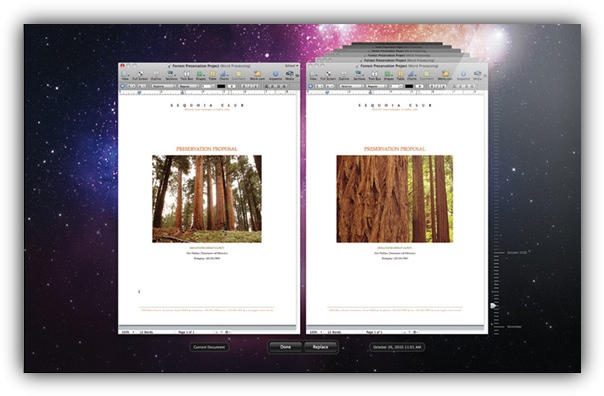 Версии Mac OS Lion