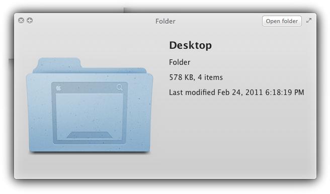 Предпросмотр Mac OS X Lion