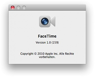 FaceTime 1.0