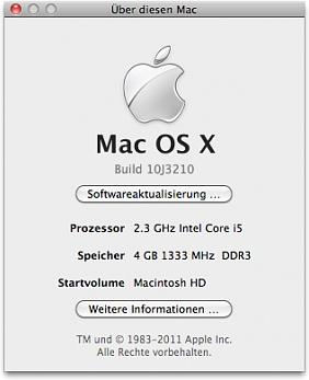 """Macbook Pro 13"""" - 10.6.6"""