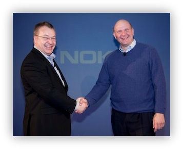 СЕО Nokia и СЕО Microsoft