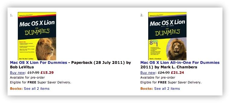 Книги по Mac OS X Lion