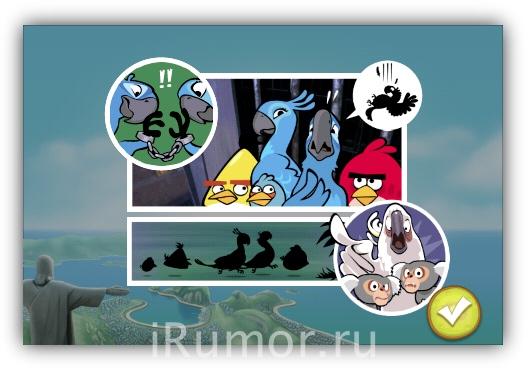 Angry Birds Rio - Спасение птицы