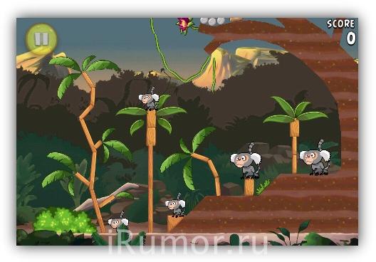 Angry Birds Rio - Джунгли