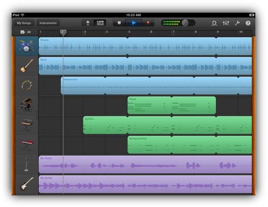 GarageBand для iOS