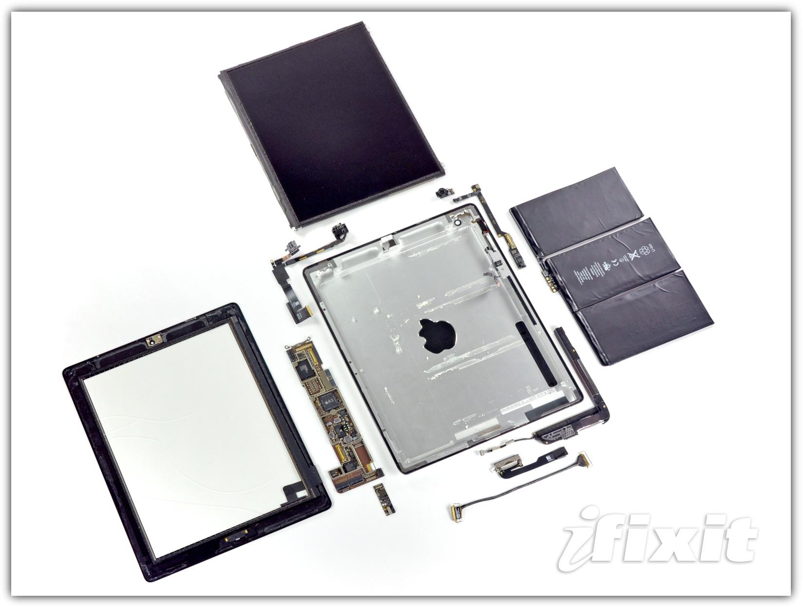 iPad 2 - разобран iFixit