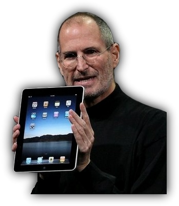 Стив Джобс представляет iPad