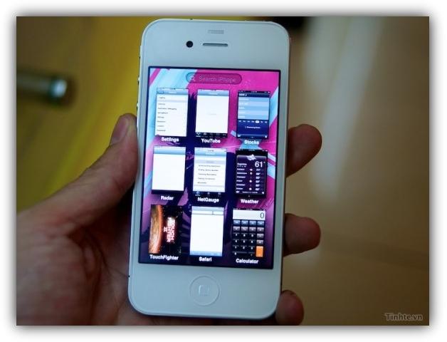 iPhone 4 c iOS 5