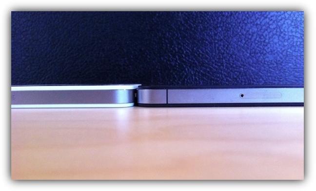 Белый и черный iPhone