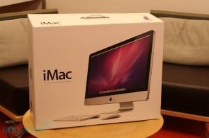 Упаковка iMac 2011