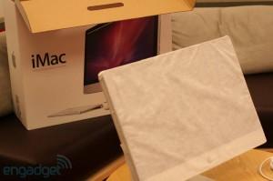 iMac 2011 в защитной бумаге