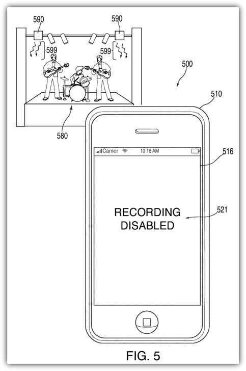 Патент Apple о чувствительных инфракрасных датчиках
