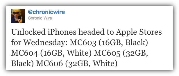 Chronic Wire - Разлоченные айфоны в среду