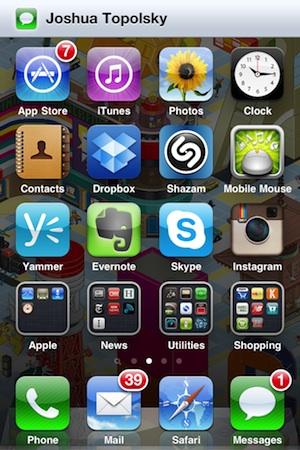 Слух - Новая система нотификаций iOS 5