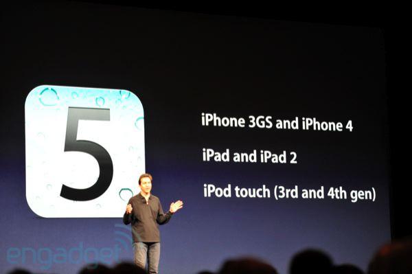 iOS 5 - Поддерживаемые устройства