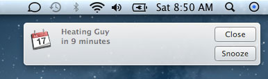 Система нотификаций OS X 10.8