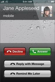 iOS 6 - Телефон